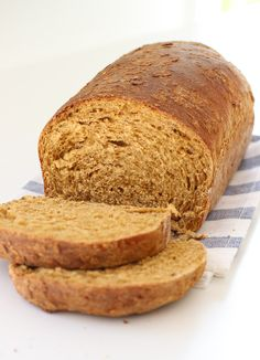 Sesame and flax seeds along with molasses and a little bit of oil make this lovely homemade bread recipe from Red Star Yeast.
