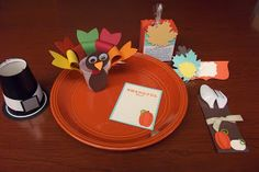 Kids' Thanksgiving Table from Stamping Sanity