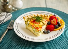 Rosemary-Lemon Chickpea Kale and Feta Quiche Healthy Food Choices, Healthy Breakfast Recipes, Breakfast Ideas, Egg Recipes, Great Recipes, Food For A Crowd, Spring Recipes, Nutritious Meals, Lunch Ideas