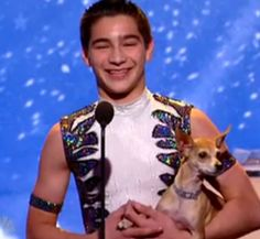 Christian Atayde Stoinev was an acrobat from Season 2 of America's Got Talent. He was eliminated in the Vegas Round.