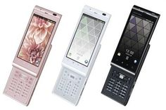 I'm still looking forward to have some mobile phone like Sharp AQUOS IS14SH ... big touch screen with keypad integrated ... (-_-;)