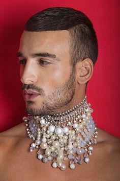 "Extra Inspiration: Genderless Fashion ""Blossom Out"": Aviel Biton para SPOON Magazine"
