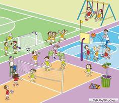 Praatplaat sporten