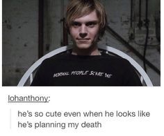 Evan Peters, though