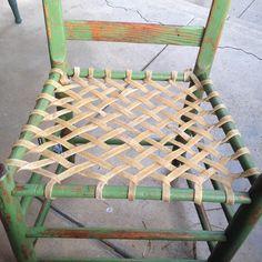 Resultado de imagen de paèr rush chair seat weaving
