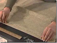 Como fazer uma cortina romana, passo-a-passo