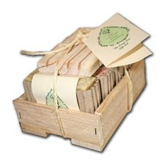 The Floral Soap Box Gift Set  4 Soaps and a by TheNaturalBathCo, $16.95