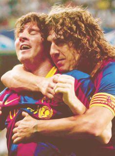 Lionel Messi & Carles Puyol