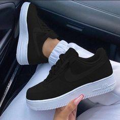 Cute Nike Shoes, Cute Sneakers, Sneakers Nike, Casual Sneakers, Casual Shoes, Jordan Shoes Girls, Girls Shoes, Shoes Women, Nike Shoes Air Force