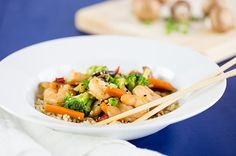 Recipe: Quick Shrimp and Vegetable Stir-Fry