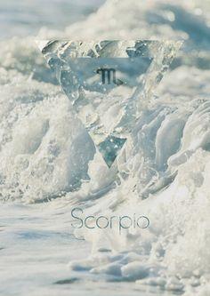 Water sign Scorpio ♏