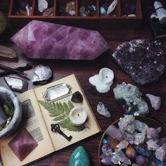 Giant crystals☾pinterest// magickbohemian