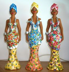 Artesanais & Cia: A arte do barro no Brasil! You are in the right place about 3 ingredient biscuits Here we offer you the most beautiful pictures about the biscuits you are looking for. African Dolls, Baby Girl Nursery Decor, Tropical Art, Bottle Art, Most Beautiful Pictures, Afro, Henna, Formal, Swimwear