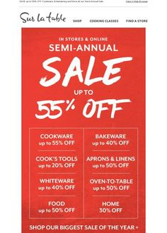 Don't Miss Our Biggest Sale of the Year! #coupons #offer