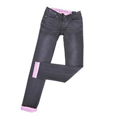Memphis Skinny Leg Washed Black, $115, now featured on Fab.