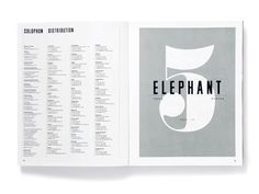 design work life » Studio8: Elephant
