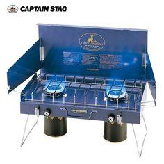 博客來-Captain Stag 日本鹿牌 雙口爐 M-8249