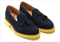 Mark McNairy - Contrast sole Tassel Loafers