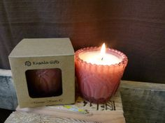 A perfect gift for Valentine's Day! Massage Candle by KusalaGifts on Etsy