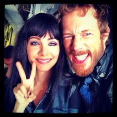 Ksenia Solo & Kris Holden-Ried LOST GIRL - Love this photo!
