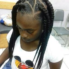 Top 100 jumbo box braids photos Invisible Knot Jumbo Braids  #jumbobraids #jumboboxbraids #invisibleknots #braidedbeauty  #braidsgang #voiceofhair #beinspired #dopebraids #hairmag #myhairispoppin #boxbraids  #getbraided #trinibraider  Quick & Easy Protective Style Have you been #braided yet?? Bookings are open for next week. Get listed today!!