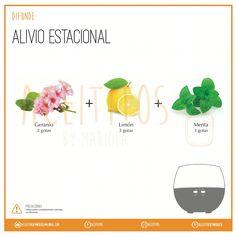 Difunde: Alivio estacional #aceites #esenciales #aceitesesenciales #doTERRA #doterraessentialoils #essentialoil #difusor #aromaterapia