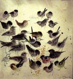 Józef Wilkon - Birds