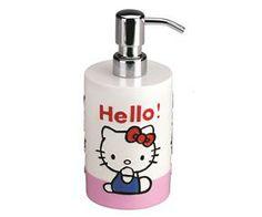 Hello Kitty Silver Tuvalet Fırçası
