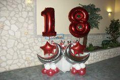 Decorazioni Sala Per 18 Anni : Fantastiche immagini su idee compleanno anni balloon