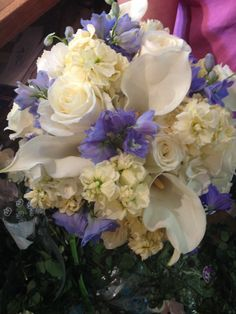 Bridal bouquet by L and Jay