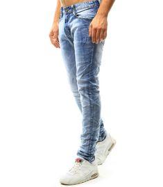 Pánske džínsové modré nohavice Jeans, Fashion, Moda, Fasion, Jeans Pants, Blue Jeans, Denim
