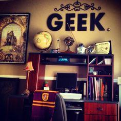 My geek office in progress