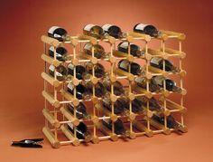 J.K. Adams Ash Wood 40-Bottle Wine Rack, Natural JK Adams,http://www.amazon.com/dp/B00028X32M/ref=cm_sw_r_pi_dp_G.pRsb1S6YJAAFHA