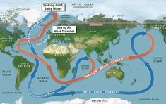 March 2015 – CLIMATE CHANGE - The Gulf Stream is one of the most important heat transport systems on the planet. It efficiently brings heat from the equator to the Northern Hemisphere through ocean...