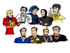 Vincent Price's many faces by Salvini on DeviantArt