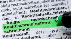 kleines Rechtschreibquiz der Süddeutschen ;) Bild: dpa