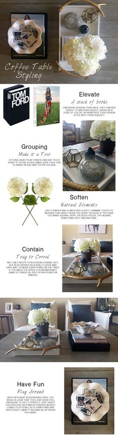 HOW TO: Coffee Table Styling || Town Lifestyle + Design