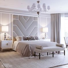 All art that is black bed room decor, luxury black and White Master Bedroom cozy Glamour Bedroom decor Modern Luxury Bedroom, Luxury Bedroom Design, Modern Master Bedroom, Master Bedroom Design, Minimalist Bedroom, Contemporary Bedroom, Luxurious Bedrooms, Home Bedroom, Home Interior Design