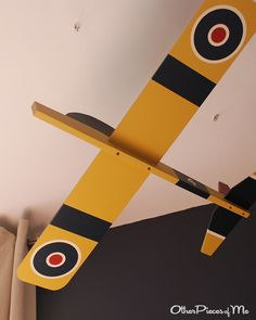 Project Nursery - 14 discovery adventure toddler bedroom plane