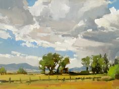 J. Brad Holt   The Mission Gallery Hamilton Fort, July 3, 2014 Oil 12x16 Inches