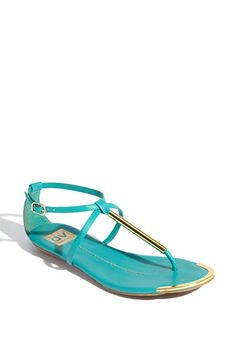 These sandals are adorable. Love all of the colors, especially the mint!