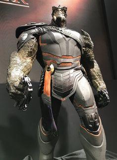 Mais uma olhada com detalhes nos vilões de Guerra Infinita revelados na D23