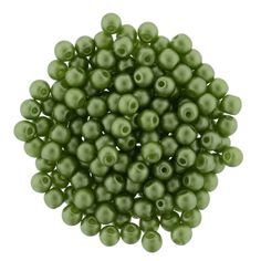 5-03-25034 Glass Pearls 3mm : Olive