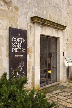 Corte San Pietro Hotel, Matera, 2012 - Daniela Amoroso