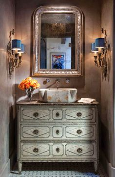 Portobello Design: Joyce Horn Antiques & Betty Lou Phillips, with Segreto Finishes and Designer Nicole Domercq Zarr - It doesn't get any better then this!
