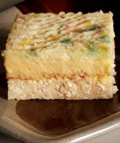Habkönnyű túrós-citromos desszert, nálunk egy pillanat alatt eltűnt a tányérról! Pavlova, Vanilla Cake, Food, Kuchen, Essen, Meals, Yemek, Eten