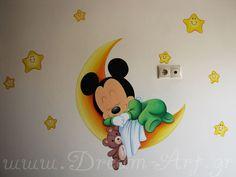 Dream-Art.gr: Ζωγραφική παιδικού δωματίου με το mickey mouse! ww...