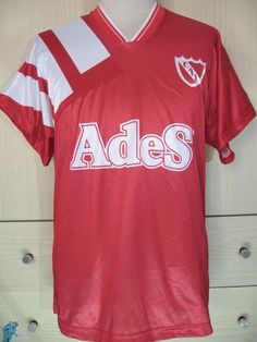 CLUB ATLETICO INDEPENDIENTE ARGENTINA LEAGUE 1992 SHIRT SOCCER JERSEY FOOTBALL L  | eBay