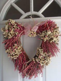 Valentine wreath, or spring wreath,