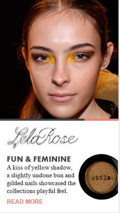 Beauty Trends 2013 ll Lela Rose Fun & Feminie Runway Recap Spring 2013